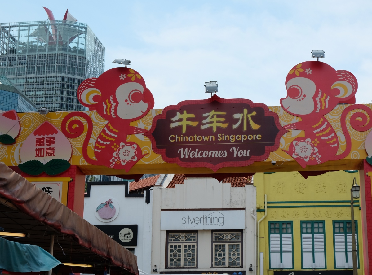 Czas na zwiedzanie –Chinatown.