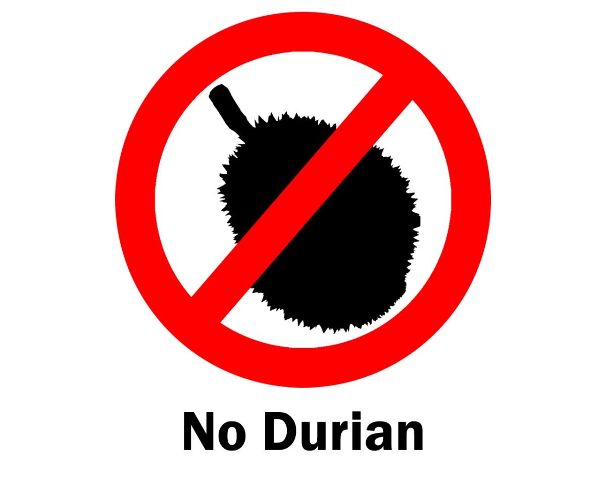 Durianowi mówimy nie :)