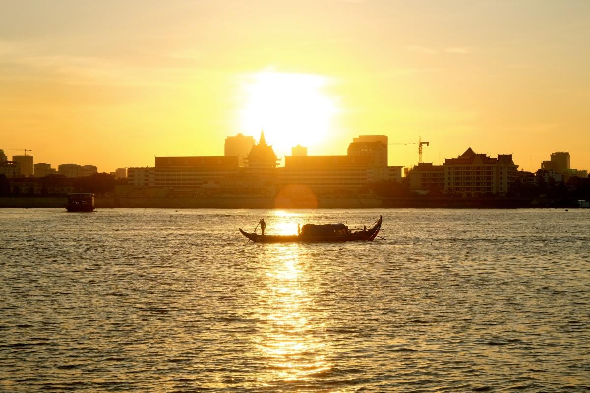 Kambodża…